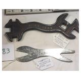 Roderick Farm Wrench & Mossberg Alligator Wrench