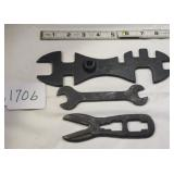 Lot of 3 Wrenches