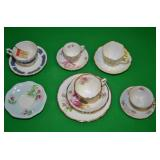 ASSORTED COFFEE AND TEA CUPS
