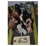 LOT OF ASSORTED CERAMIC DOGS