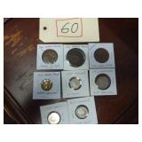 ASSORTED ENGLISH COINS