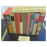ASSORTED BOOKS WITH SLIP CASES