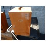 WOOD MICROSCOPE BOX