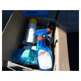 BOX OF GARAGE ITEMS