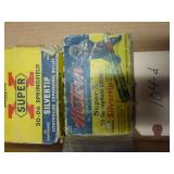 VINTAGE AMMO AND BOXES