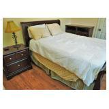 Sleigh bed bedroom set