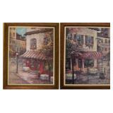 Pair of Ruane Manning art prints