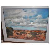 William Preston landscape print