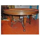 Victorian poker table