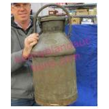 """old """"standard oil - indiana"""" 5-gallon oil can"""