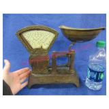 """old """"national store & specialty co"""" counter scales"""