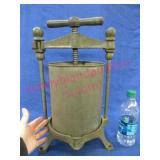old lard press (counter top model)