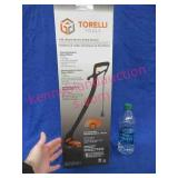 new torelli 9in electric string trimmer