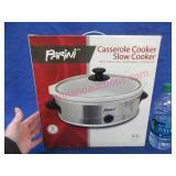 new parini casserole cooker slow cooker (2.5qt)