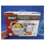 new parini pasta cooker & steamer (5qt)