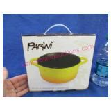 new parini 1.5qt flameproof casserole dish