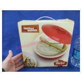 new parini tortilla warmer (8in stoneware)