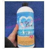 "new ""philosophy sea of love"" shampoo, shower gel,"