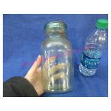 old 1qt  lightning canning jar (putman 343)