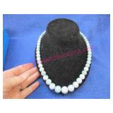 """""""jay king mine finds"""" blue ocean stone necklace"""