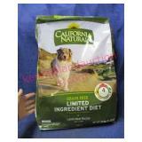 "new dog food ""calif. natural"" (lamb meal) 26-lb"