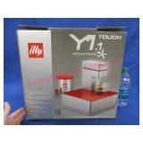 """illy y1.1 coffee iperespresso machine"" new in box"