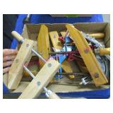 flat of wood & other clamps