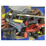 nice box of various clamps