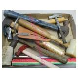 flat with bluegrass hammer & other hammers