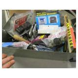 metal box lot (300w inverter-grease gun-misc)