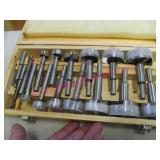 forstner wood bits in case