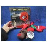 new 3-in1 leash light & dog toy (1of3)