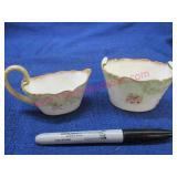 old doulton england sugar-creamer (dainty)