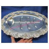 """large old meat carving tray """"gregory may 6, 1910"""""""