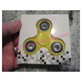 yellow fidget hand spinner