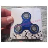 blue fidget hand spinner