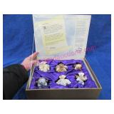 box of annette funicello angel bear ornaments