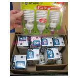12 energy saving light bulbs