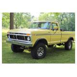 1977 Ford F250 Camper Special Truck 4x4