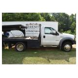 Ford F550, Trailers, Guns, Tractors, Fire Truck Toys, Woodworking Equip., Metal, Lumber, Antiques