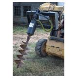 Post Hole Auger Loader Quick Attachment