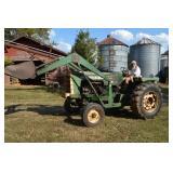 Oliver 1550 Tractor w/ Loader