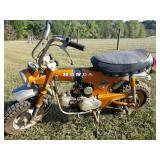 Honda Trail 70 Motorcycle