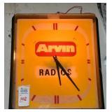 Arvin Radio Clock