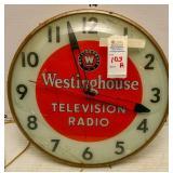 Westinghouse Advertising Clock