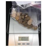 1 Lb Of Indian Head Pennies