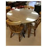 Kitchen Dinning Table with Four Chairs & More