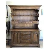Country Style Dining Hutch