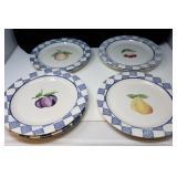 Pfaltzgraff  Dinner Plates, Set of 8