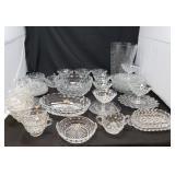 Jeanette Cut Glass Serving Pieces 3